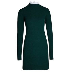 Brand new Sandro Ancolie sweater dress in green
